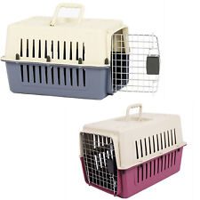 """Vilobos 16"""" Small Cat Dog Carrier Travel Cage Portable Crate Puppy Kitty Pet Box"""