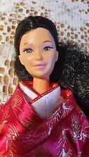 Poupée Barbie Kira Marina Miko en japonais kimono Japon vintage rare Asian Beauty