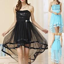 Chiffon Strappy, Spaghetti Strap Ballgown Knee Length Women's Dresses