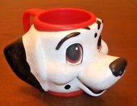 101 DALMATIANS Original Dipstick Figural Mug 3D Cup Disney Dog Vintage Applause