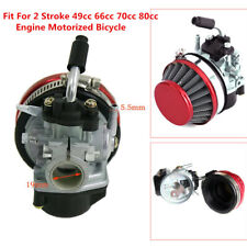 Carburetor Air Filter For 49cc 66cc 70cc 80cc Motorized Bicycle Engine Motor Kit