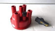 Distributor Cap and Rotor Kit-Premium Wells 15511G MADE IN U.S.A. RED CAP