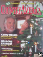 KENNY ROGERS 12/89 Country America Magazine