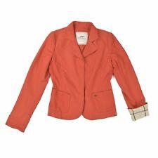 THOMAS BURBERRY Damen Blazer S 36 6 Wolle Sakko Woman Jacket Cardigan NEU