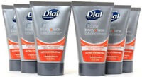 6 Dial For Men 7 Day Body Face Lotion TSA Complient Travel Size Ultra Hydrating