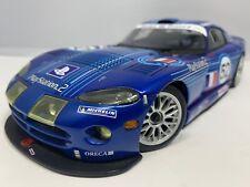 1:18 AUTOart Racing 2002 Dodge Viper GTS-R PlayStation 2 #52 LM GTS  Read!!