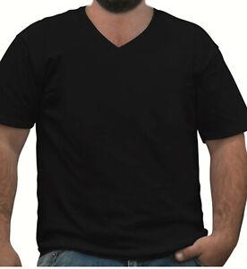 Plain Blank Premium Tshirt Tee Big and Tall Plus Size Black 3XL 4XL 5XL 6XL