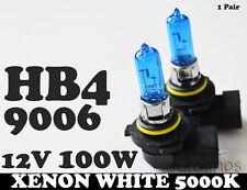 HB4 9006 12V 100W Xenon White 5000k Halogen Car Head Light Lamp Globes Bulbs HID