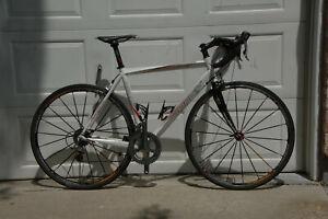 Ridley Compact, 54 cm, upgraded, Dura Ace 2x10 gears, Mavic Ksyrium ES Wheels