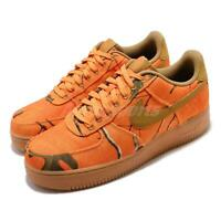 Nike Air Force 1 07 LV8 3 Realtree Orange Wheat Mens Casual Shoes AF1 AO2441-800