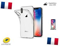 Coque Verre Trempé Etui Housse Protection iPhone 5 5S SE 6 7 8 X + Plus Silicone