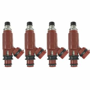 4 pcs 195500-3260 Fuel Injector For CHEVROLET SUZUKI METRO 1998-2001 1.3L