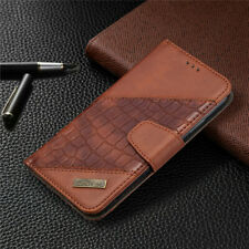 Crocodile Wallet Leather Flip Cover Case For iPhone 12 Pro 11 7 8 Plus XR XS Max