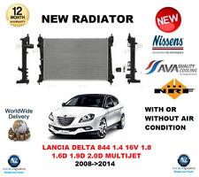 für Lancia Delta 844 1.4 16V 1.8 1.6 1.9 2.0 D MultiFuel 2008- > 2014 NEU Kühler