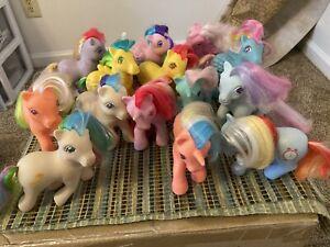 My Little Pony Vintage G1 Lot Of 14 - Twinkle Eye
