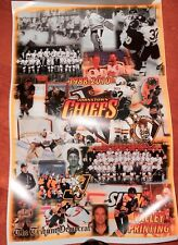JOHNSTOWN CHIEFS FINAL SEASON TEAM MINI POSTER 11 X 17 W/FINAL TRIBUTE LMT. RARE