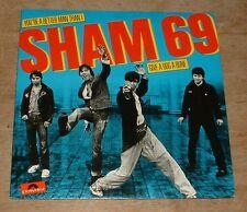 SHAM 69 you're a better man than i*give a dog a bone 1979 UK POLYDOR PS 45
