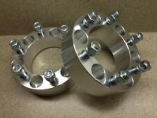 "2X CNC WHEEL SPACERS ADAPTERS 6X114.3 TO 6X139.7 / 6X4.5 TO 6X5.5 1.25"" THICK"