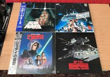 STAR WARS Japan Laserdisc: SW; ESB ; ROTJ; ESB-SPFX -   ROTJ STILL  SEALED