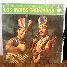 RARE Los Indios Tabajaras the many splendored guitars of LP RCA 1S/1S shrink M-