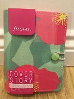 Filofax personal pocket organiser cover story primrose floral diary 2017