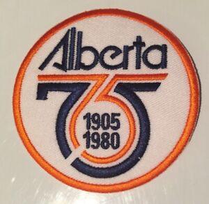Province of Alberta 1905-1980 Commemorative Patch Edmonton Drillers NASL