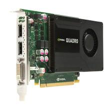 Dell Nvidia Quadro K2000 128-bit 2GB DDR5 PCI-E 2 x16 DPx2 DVIx1 0JHRJ