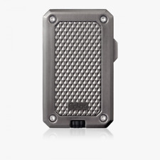 More details for new colibri rally single jet flame cigar lighter in gunmetal
