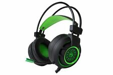 Marvo 7.1 Virtual Surround USB Gaming Headset Kopfhörer 2m Kabel HG9012 grün