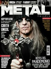 This is Metal Magazine Spain Issue 22 - September 2017 - Tom G.Warrior - Spanish