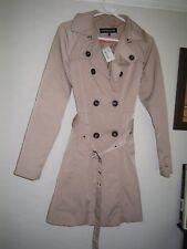 Warehouse Ladies Brown Coat Size Medium New - RRP £86.00 - FREEPOST