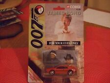 Corgi 99261 James Bond For your eyes only red Lotus - Sealed MOC 1:64 scale NEW