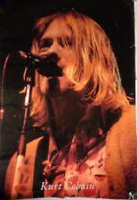 KURT COBAIN Poster   w61cm x 91cm height  / 24 x 36 inches  1990s vintage