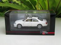 High Speed 1/43 Diecast Model Car Toyota Crown 2004 (White)