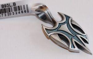 BICO Australia's VIKING (B93) silver plated pendant