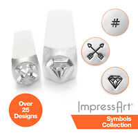 ImpressArt Symbols and Design Metal Stamping, Metal Stamps