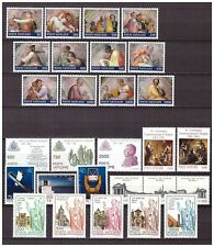 S15559) Vatikan MNH 1991, Complete Year Set 28v
