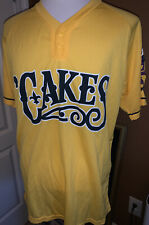 Yellow 2019 New Orleans Baby Cakes SGA Jersey XL Zephyrs Minor League