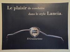 LANCIA GAMMA ORIG 2000 Swiss Mkt opuscolo di vendita in francese-Y LYBRA K Z SW