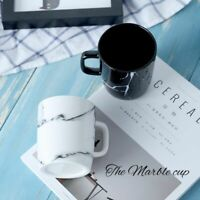 Ceramic Marble Mug Cup Home Office Porcelain Coffee Milk Tea Drinking Wares Mugs