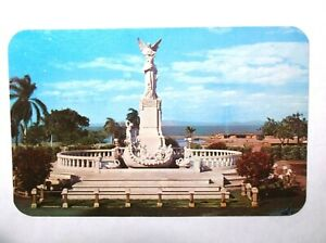 1954 RPPC Managua Nicaragua  Monument To Ruben Dario Xolotlan