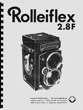Rolleiflex 2.8F Service & Repair Manual: NatCam