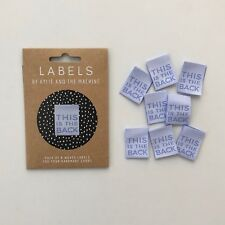 This is the back - KatM - sew in woven tags clothing labels