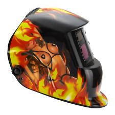 Auto Darkening Welding Helmet Solar Welder Mask with 4.33''x3.54'' Large View Us