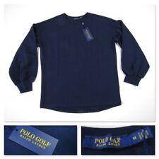 Polo Golf Ralph Lauren Womens Navy Sweatshirt Spring 19 Medium MSRP $148.00 New