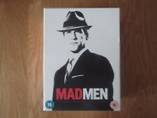 MAD MEN SEASONS 1-4 DVD BOX SET SERIES 1 2 3 4 MOST DISCS NEVER WATCHED