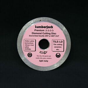Lumberjack 115mm Diamond Blade Tiles, Granite & Marble Slabs, Glass, Ceramics