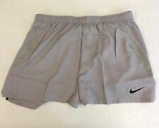 Nike Football Soccer Performance Training Shorts Women's Medium Grey AJ1266