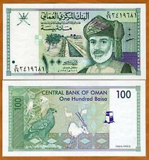 Oman, 100 Baisa, 1995, Pick 31, UNC   Sultan, Eagle, Orix