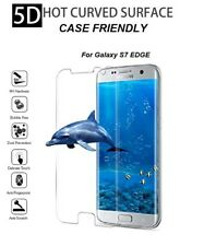 5d Tempered Glass Screen Protector for Samsung Galaxy s7 Edge Clear casefriendly